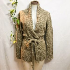 NWOT Jacob sweater with belt